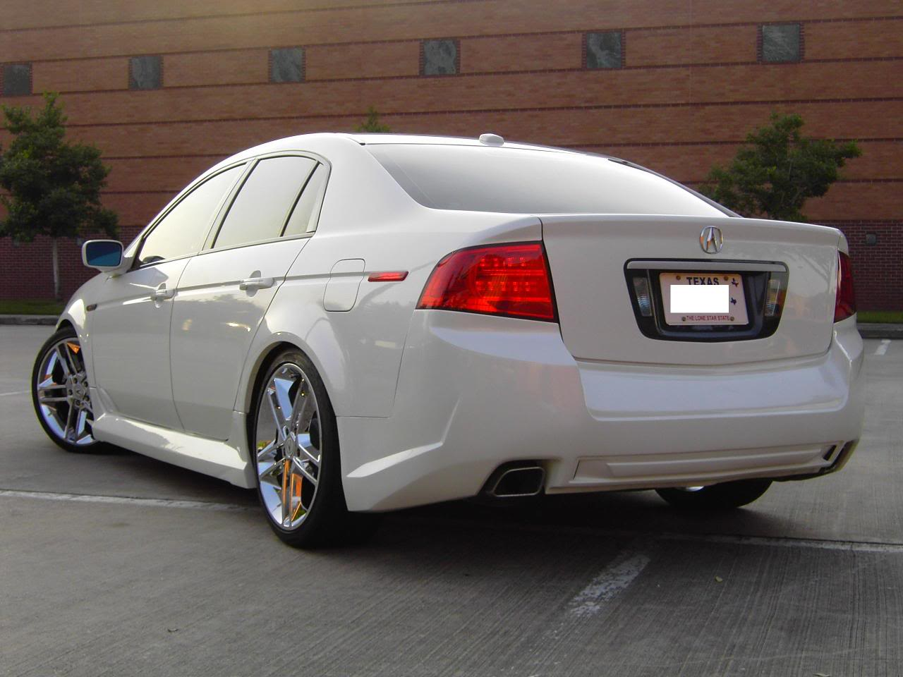 Acura Tl Technical Specifications And Fuel Economy