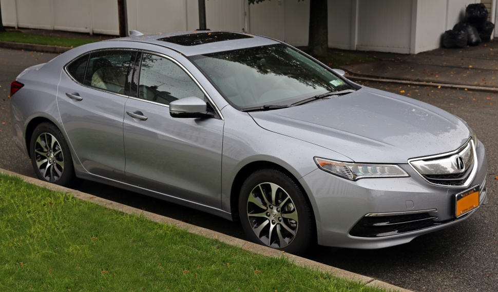 Acura TLX Technical Specifications And Fuel Economy
