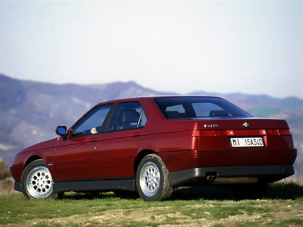 alfa romeo 164 technical specifications and fuel economy. Black Bedroom Furniture Sets. Home Design Ideas