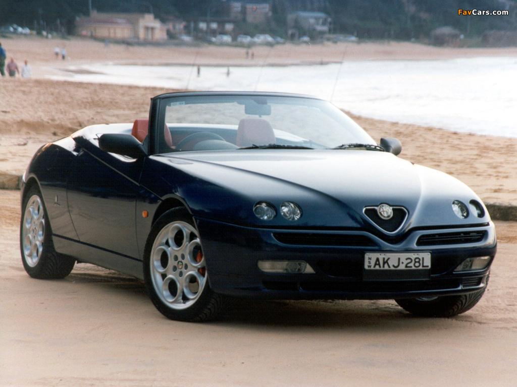 Alfa Romeo Spider B D