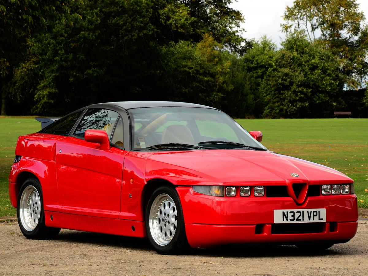 alfa romeo sz technical specifications and fuel economy. Black Bedroom Furniture Sets. Home Design Ideas