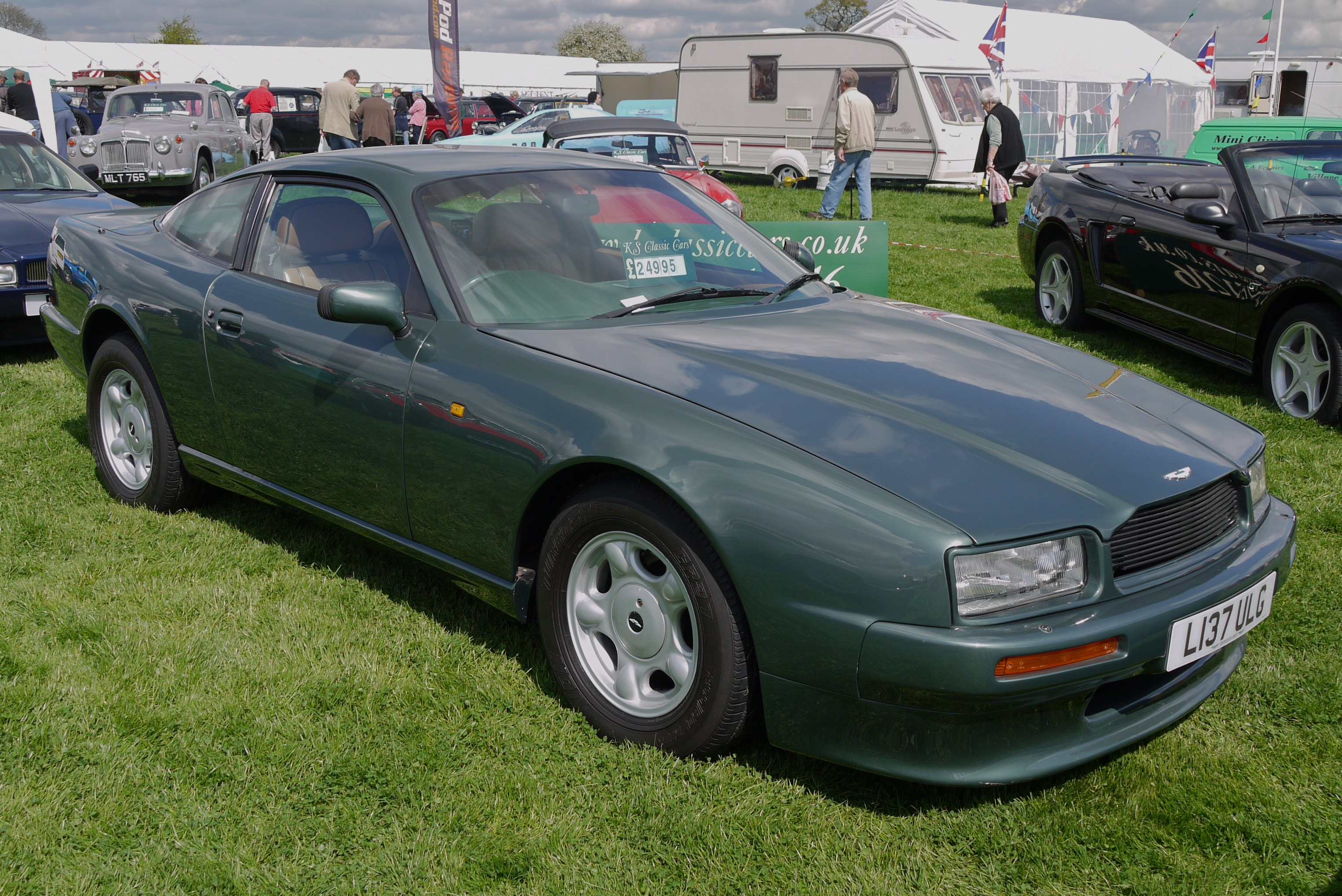Elton John's 1997 Aston Martin V8 Vantage Heads for Race ...
