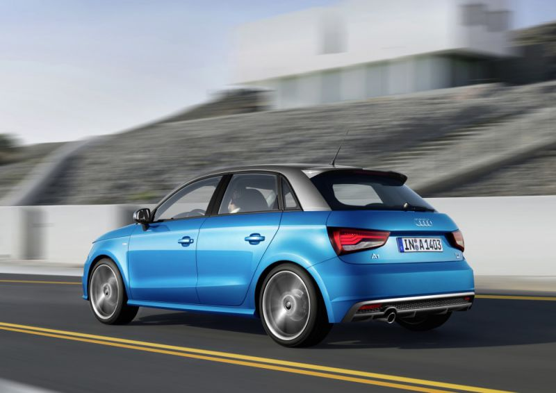 Audi A1 Sportback (8X Facelift 2014) 1.0 TFSI (82 Hp