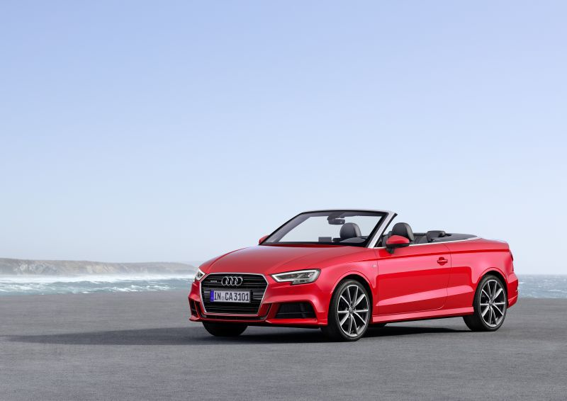 audi a3 cabrio 8v facelift 2016 1 6 tdi 110 hp. Black Bedroom Furniture Sets. Home Design Ideas