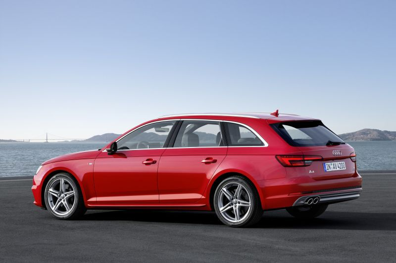 audi a4 avant b9 3 0 tdi v6 218 hp s tronic technical information. Black Bedroom Furniture Sets. Home Design Ideas