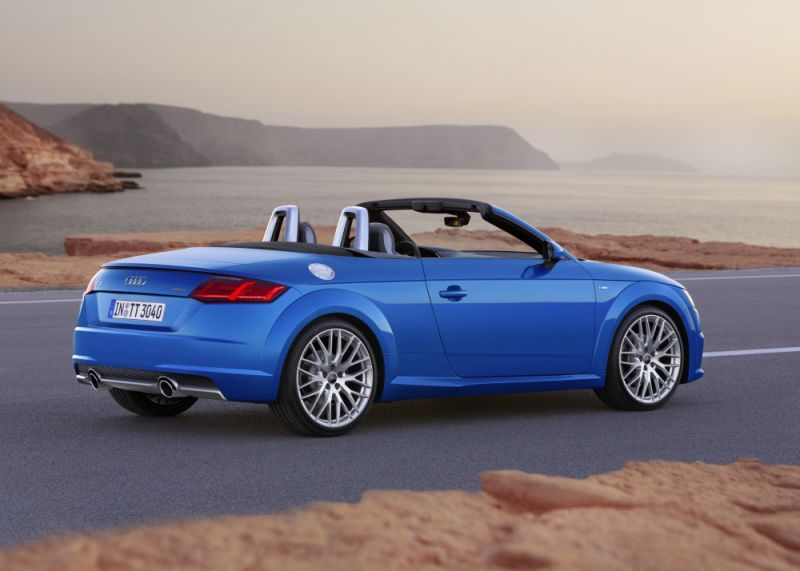 audi tt roadster 8s 1 8 tfsi 180 hp. Black Bedroom Furniture Sets. Home Design Ideas
