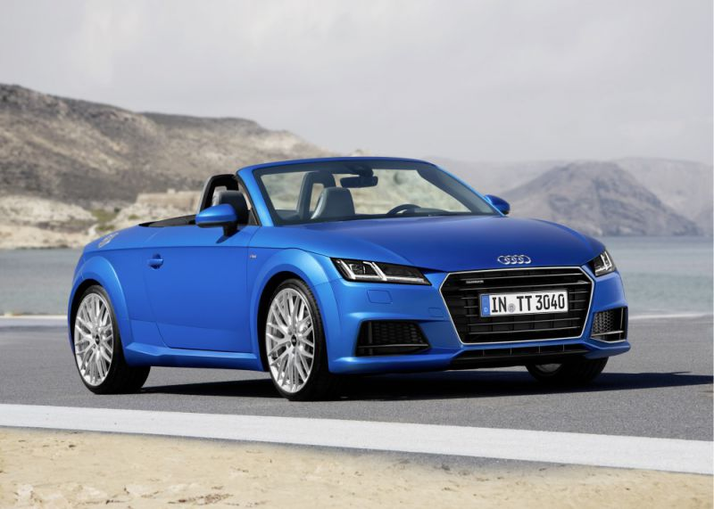 audi tt roadster 8s 1 8 tfsi 180 hp s tronic. Black Bedroom Furniture Sets. Home Design Ideas