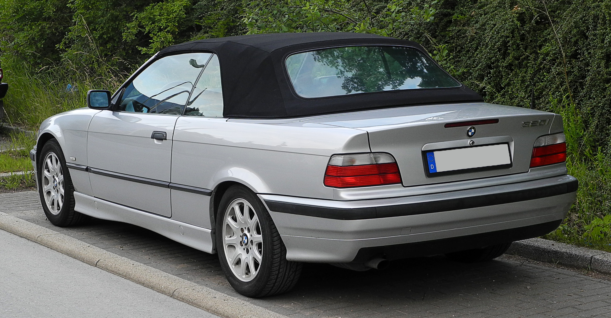 bmw 3er cabrio e36 320i 150 hp. Black Bedroom Furniture Sets. Home Design Ideas