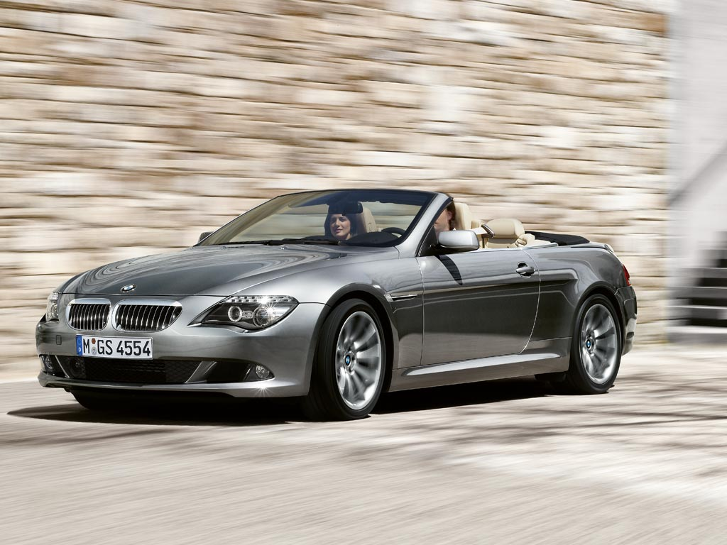 bmw 6er convertible e64 645 ci 333 hp. Black Bedroom Furniture Sets. Home Design Ideas