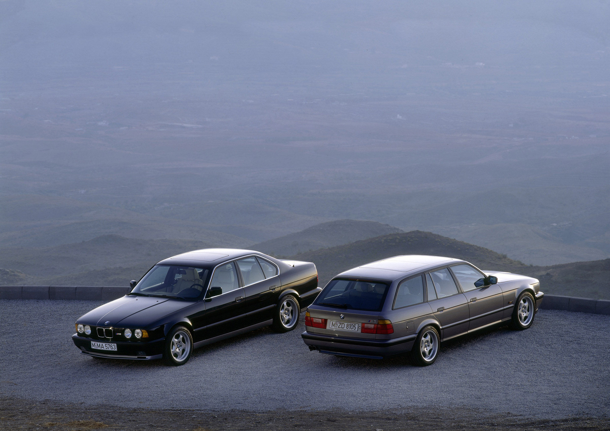 Bmw M5 Touring E34 3 8 340 Hp