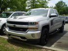 Chevrolet  Silverado 1500 Double Cab III (facelift 2016) Standard Box  5.3 V8 EcoTec3 (355 Hp) Automatic 8AT