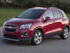 Chevrolet Trax Technical specifications and fuel economy (consumption, mpg)