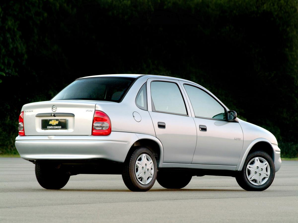 Chevrolet Corsa Technical Specifications And Fuel Economy