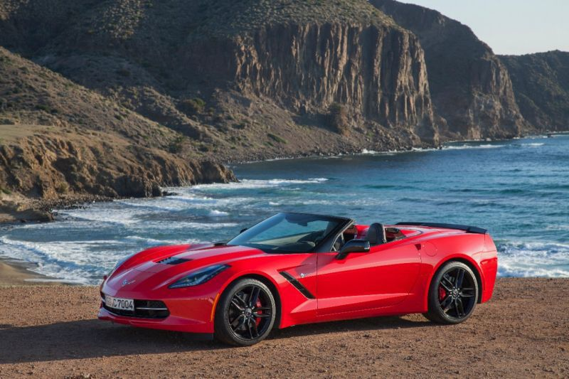 Chevrolet Corvette Convertible (C7) Grand sport 6.2 V8 ...