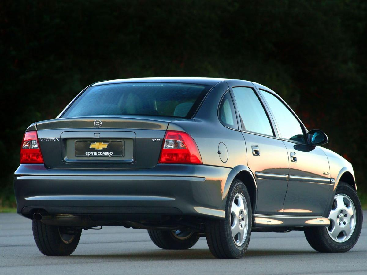 Chevrolet Vectra Technical specifications and fuel economy (consumption, mpg