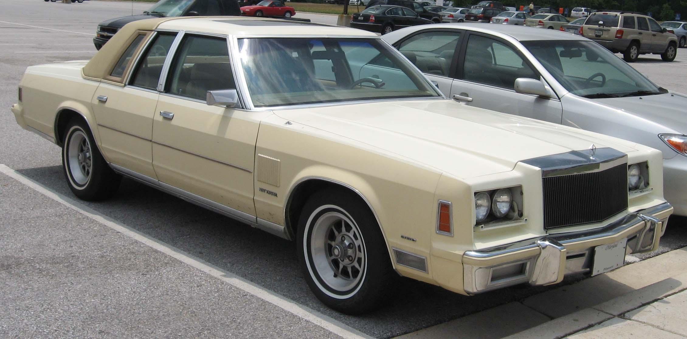 Chrysler new yorker technical specifications and fuel economy for 1993 chrysler new yorker salon sedan