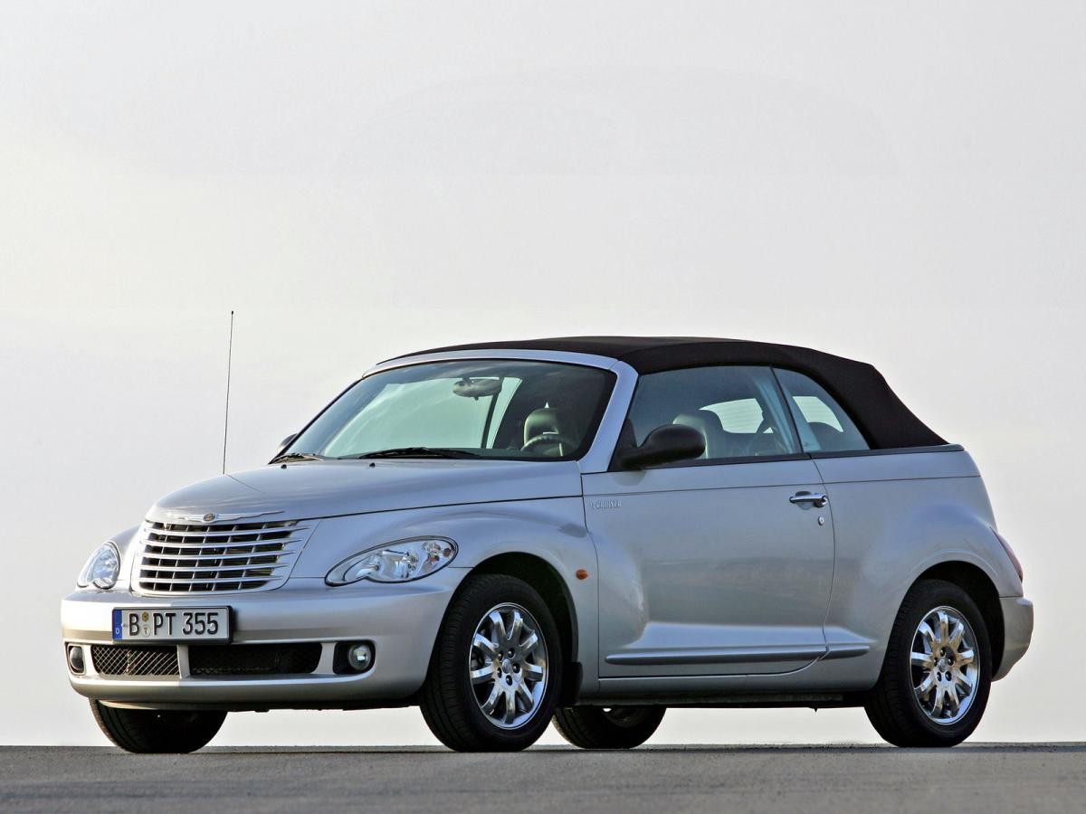 chrysler pt cruiser cabrio 2 4 i 16v turbo 182 hp. Black Bedroom Furniture Sets. Home Design Ideas