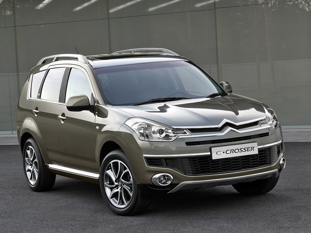 citroen c crosser technical specifications and fuel economy. Black Bedroom Furniture Sets. Home Design Ideas