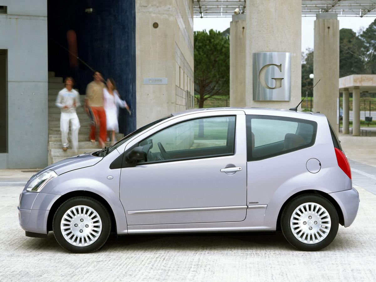 citroen c2 technical specifications and fuel economy consumption mpg. Black Bedroom Furniture Sets. Home Design Ideas