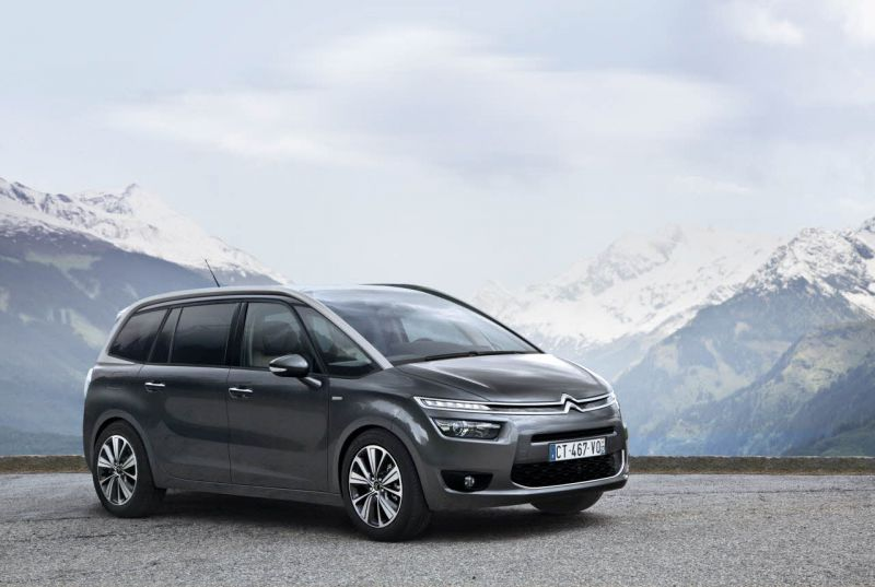 citroen c4 ii grand picasso 1 6 e hdi 115 hp automatic technical specifications and fuel. Black Bedroom Furniture Sets. Home Design Ideas
