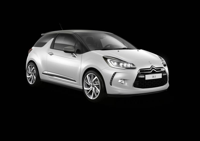 citroen ds3 technical specifications and fuel economy. Black Bedroom Furniture Sets. Home Design Ideas
