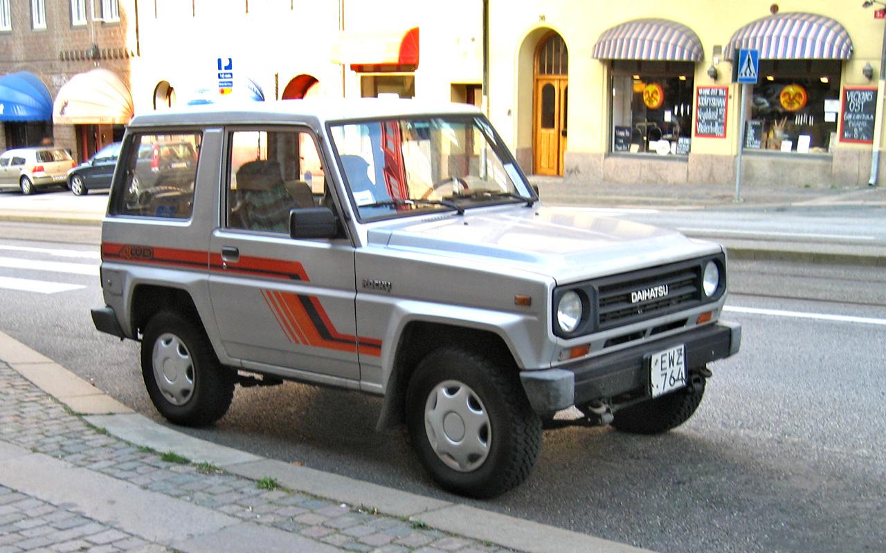 Piece WILDCAT/ROCKY : pieces Daihatsu WILDCAT/ROCKY moins chères