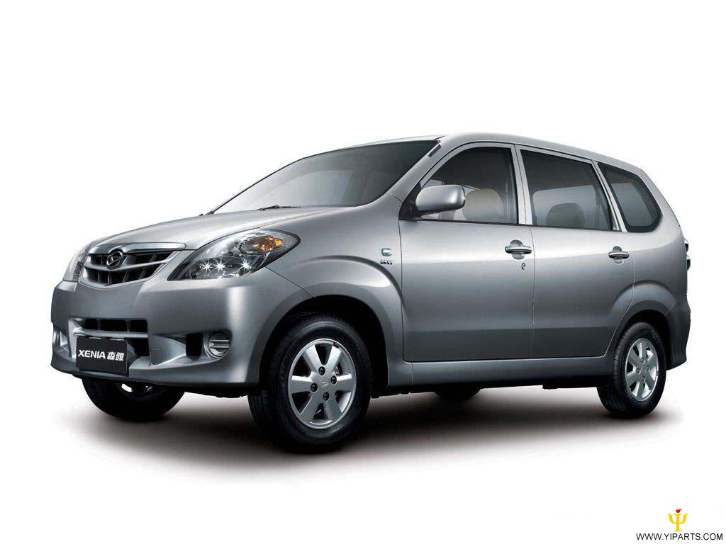Types Of Car Sizes >> Daihatsu Xenia technical specifications and fuel economy