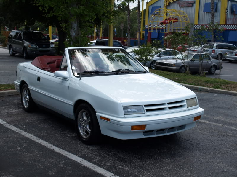 Dodge Shadow Convertible 2 I 94 Hp