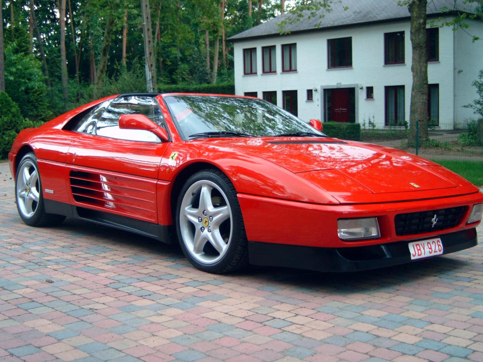 Ferrari 348 technical specifications and fuel economy