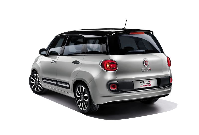 fiat 500l living wagon 1 6 multijetii 120 hp. Black Bedroom Furniture Sets. Home Design Ideas
