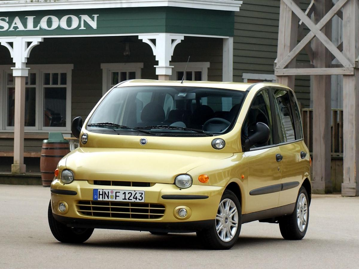 Fiat Multipla Technical specifications and fuel economy (consumption, mpg