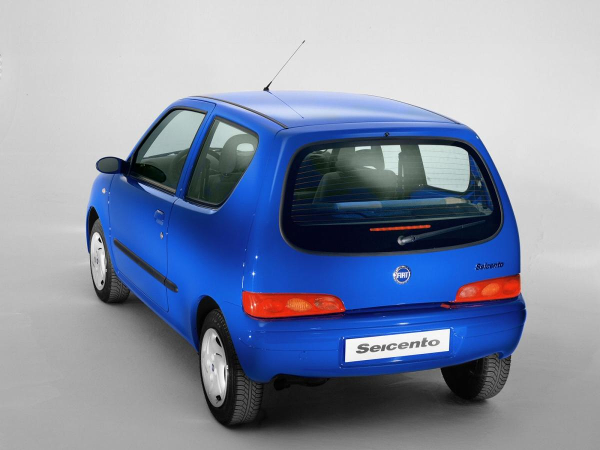 fiat seicento technical specifications and fuel economy. Black Bedroom Furniture Sets. Home Design Ideas