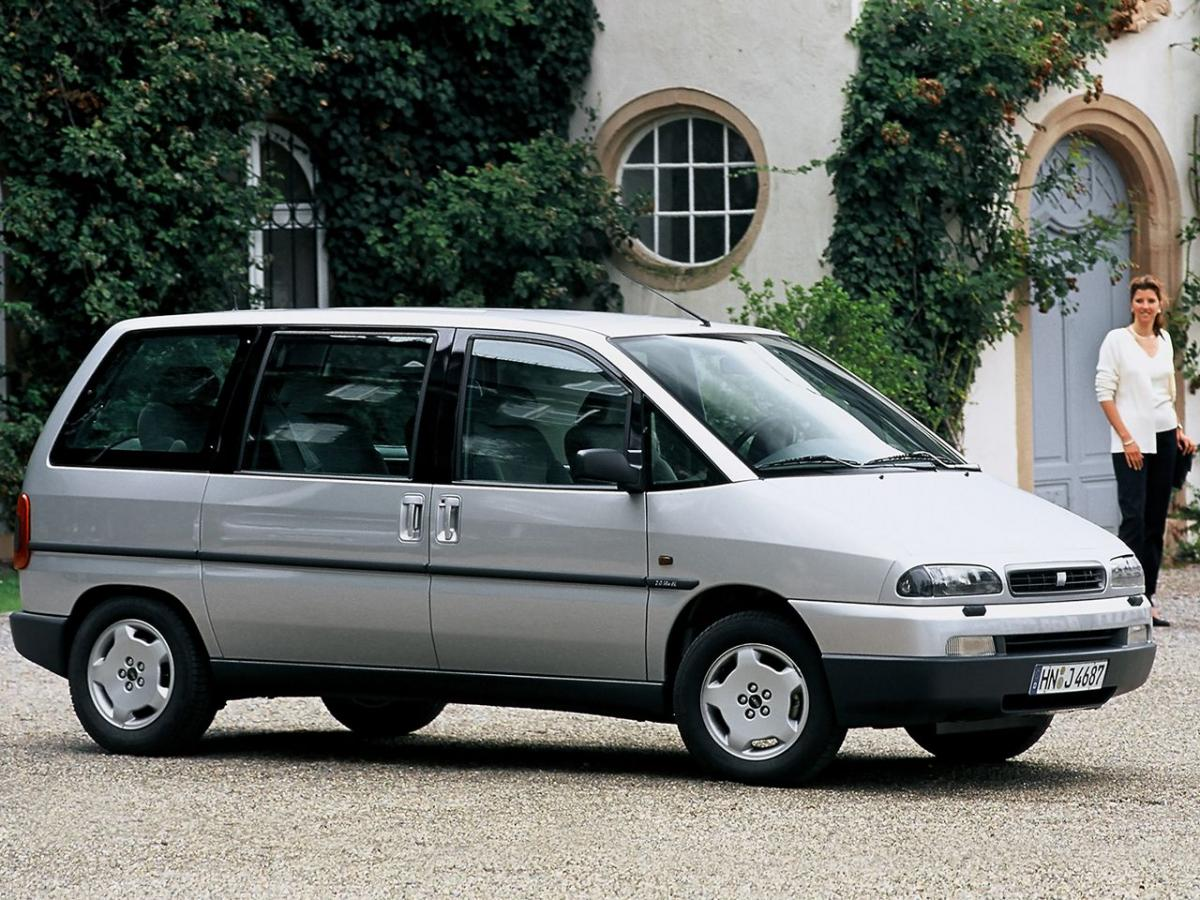 Fiat Ulysse Technical specifications and fuel economy (consumption, mpg