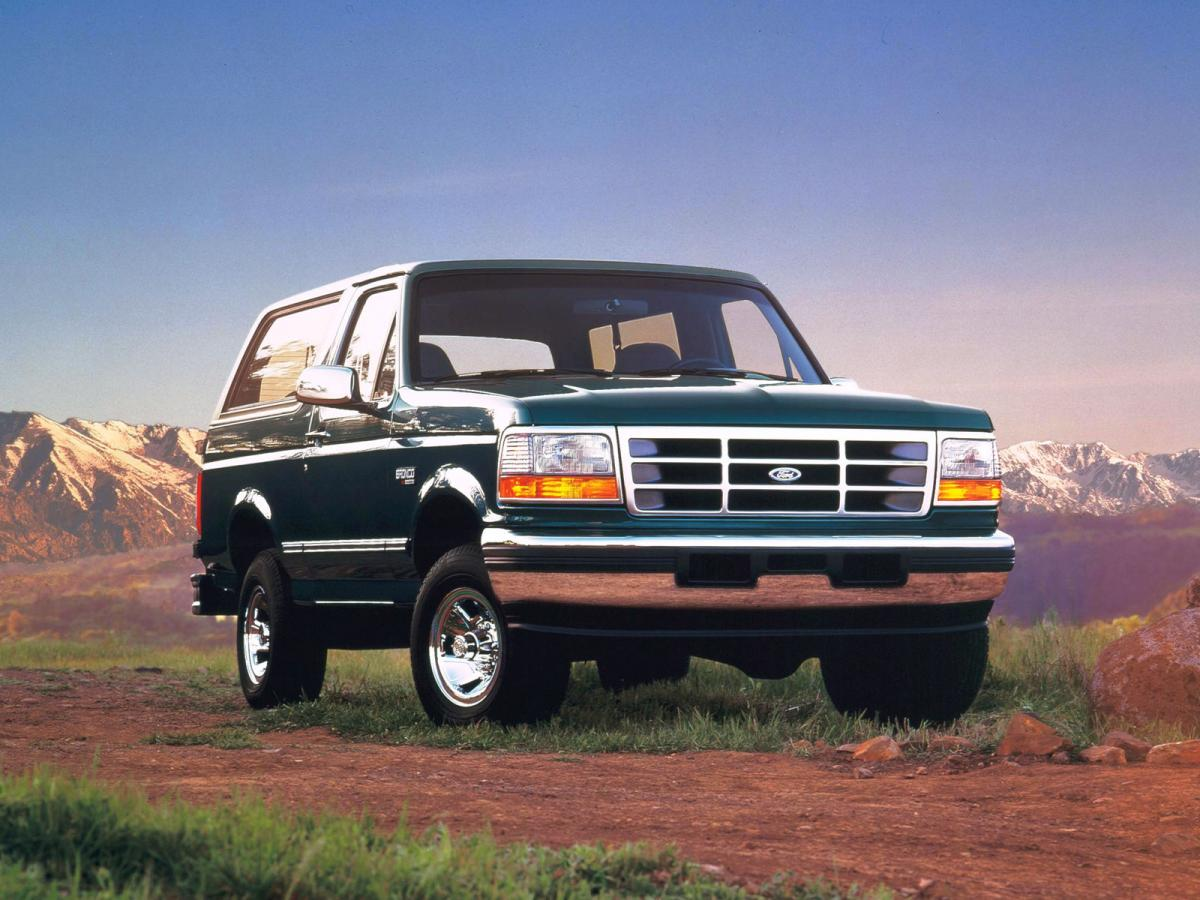 Ford Bronco technical specifications and fuel economy