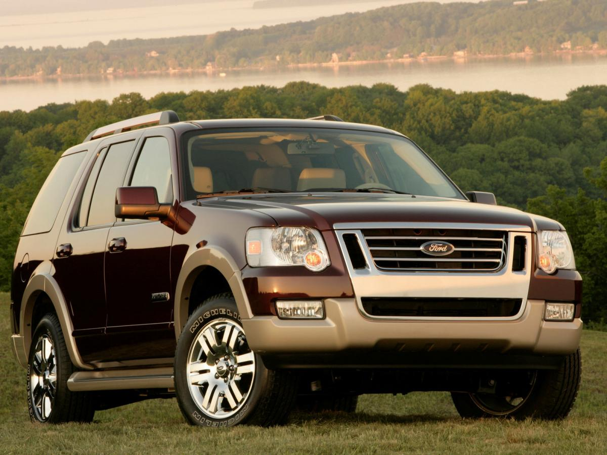 ford explorer technical specifications and fuel economy. Black Bedroom Furniture Sets. Home Design Ideas