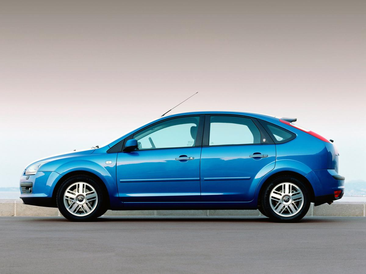 Ford Focus Hatchback Rims >> Ford Focus II Hatchback 1.6 Duratec 16V (100 Hp) MT