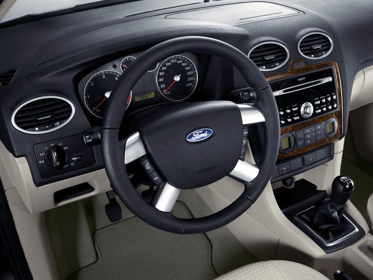 ford focus hatchback ii, 1.6 duratec 16v