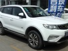 Geely Emgrand X7 Technical specifications and fuel economy