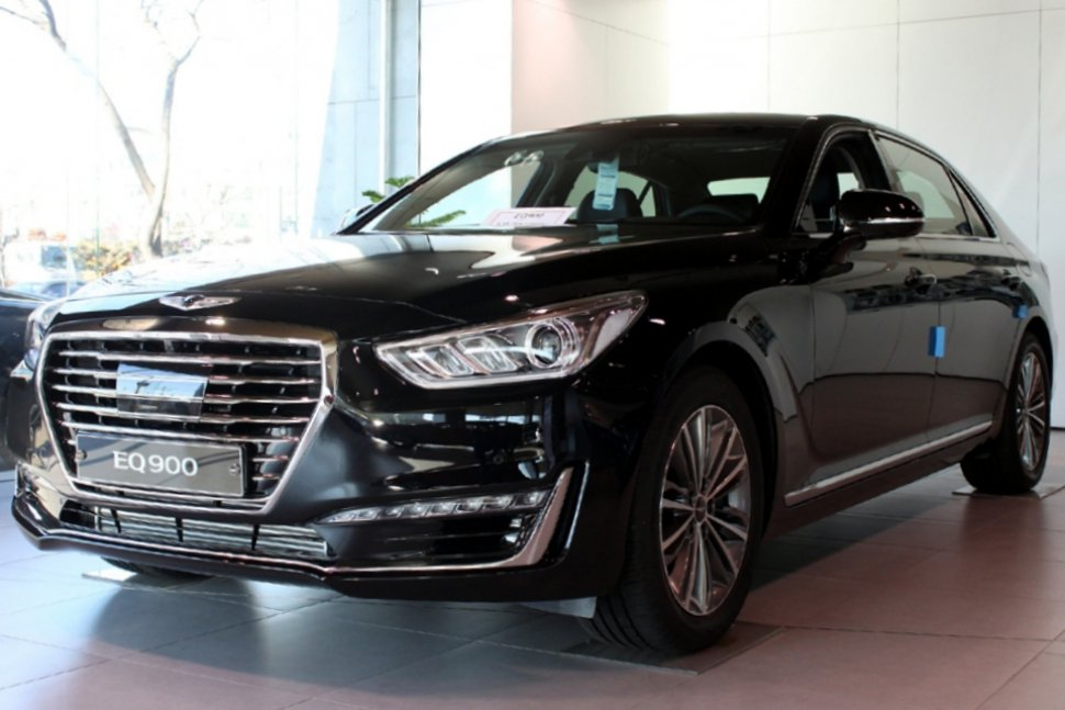 genesis g90 eq900 technical specifications and fuel economy. Black Bedroom Furniture Sets. Home Design Ideas