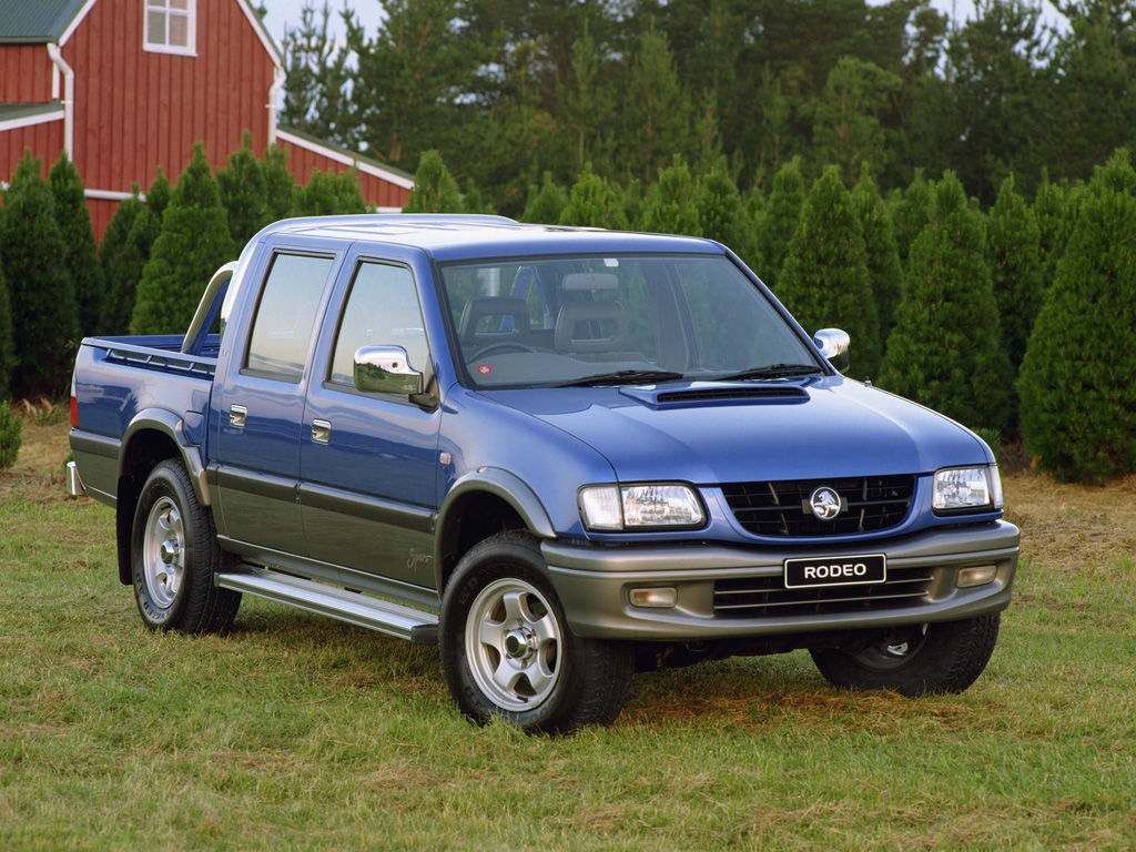 Holden Rodeo 3 0 Tdi 2wd 130 Hp