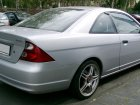 Honda  Civic Coupe VII  1.7i (125 Hp) Automatic