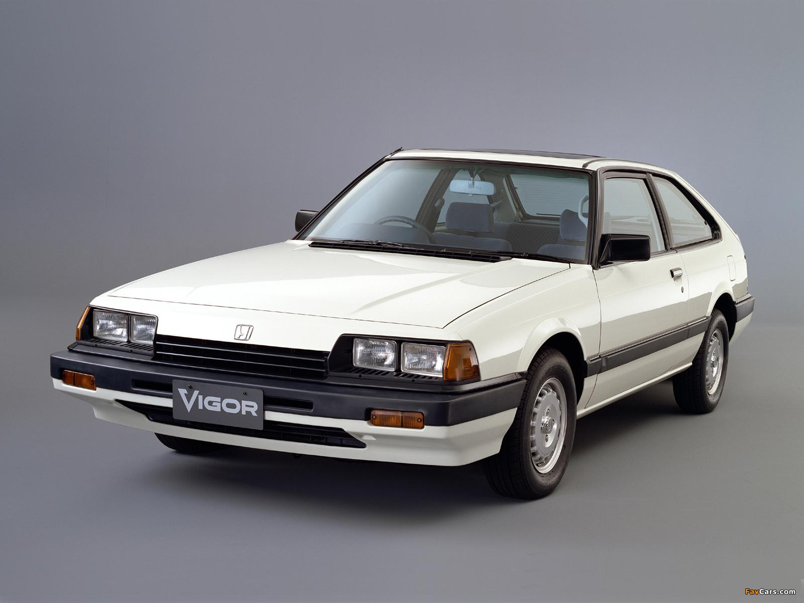 Honda Vigor Technical Specifications And Fuel Economy