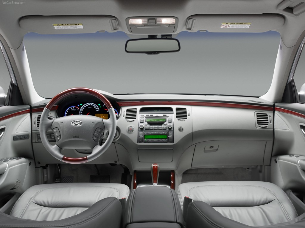 Hyundai Grandeur Technical specifications and fuel economy (consumption, mpg