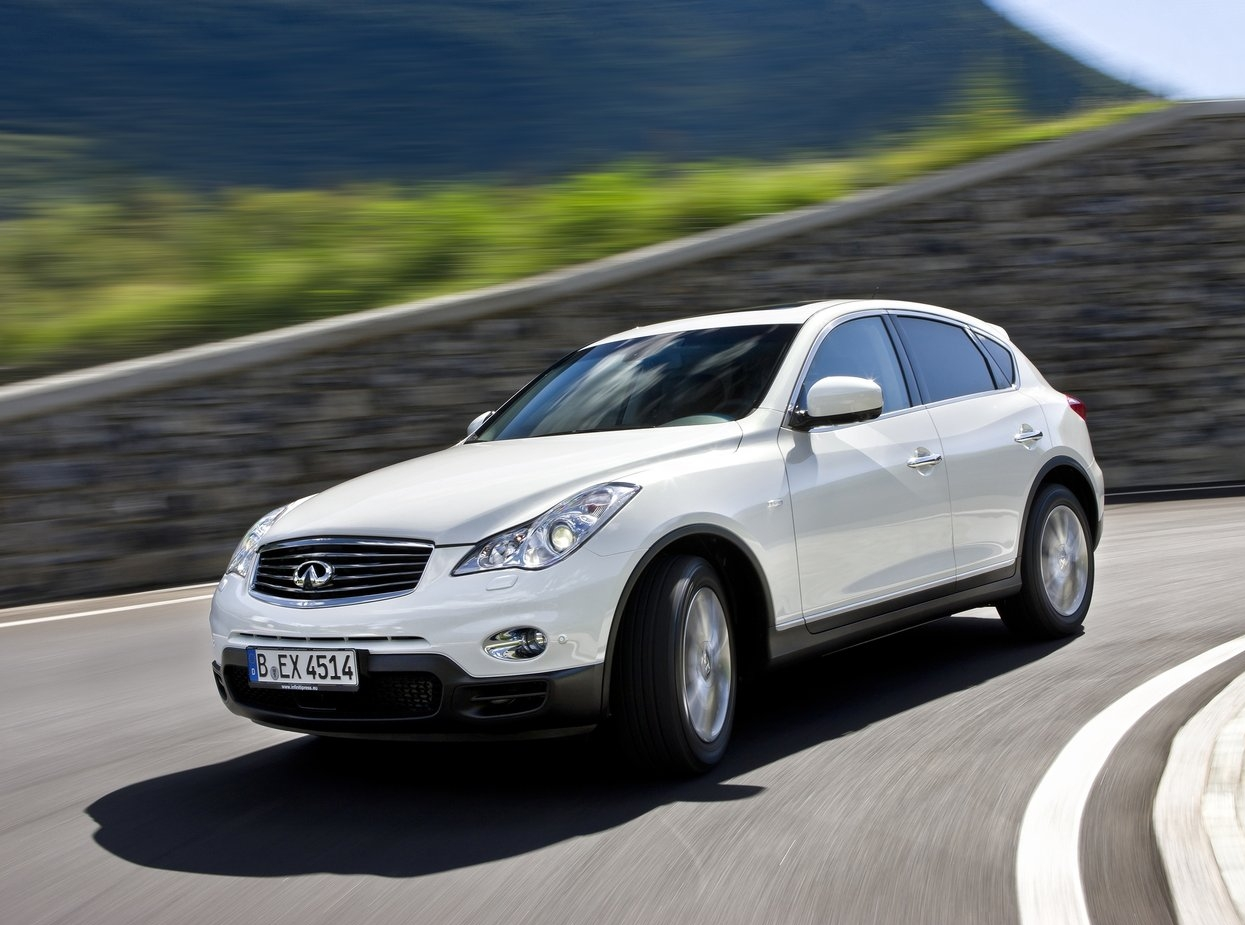 Infiniti EX Technical specifications and fuel economy (consumption