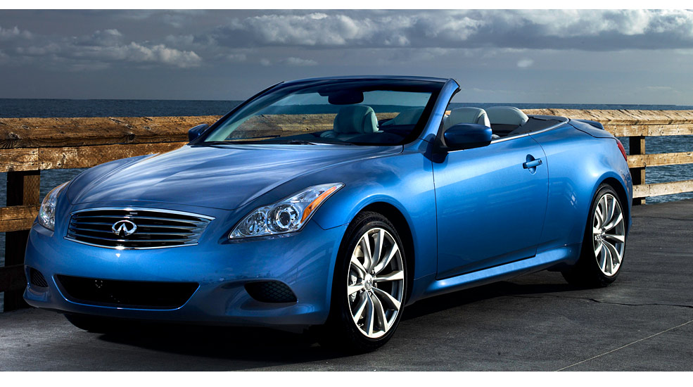 infiniti g37 convertible 3 7 v6 320 hp automatic. Black Bedroom Furniture Sets. Home Design Ideas