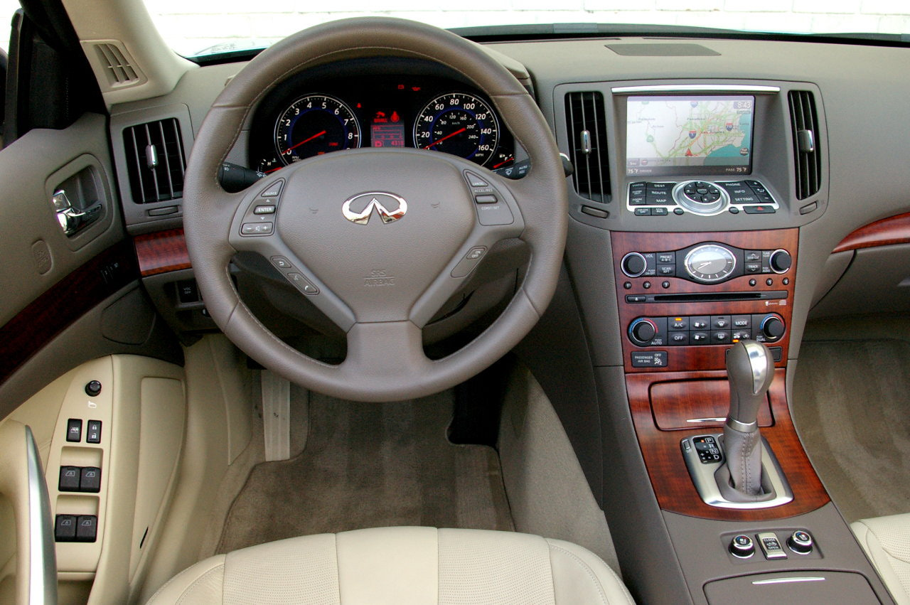 Infiniti g37 technical specifications and fuel economy infiniti g37 coupe vanachro Images