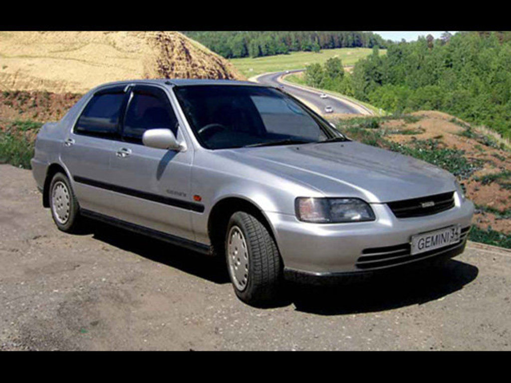 isuzu gemini technical specifications and fuel economy