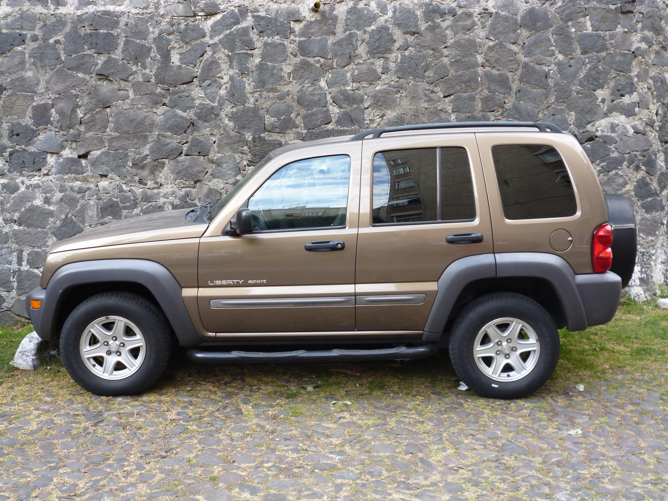 Jeep Liberty Technical Specifications And Fuel Economy