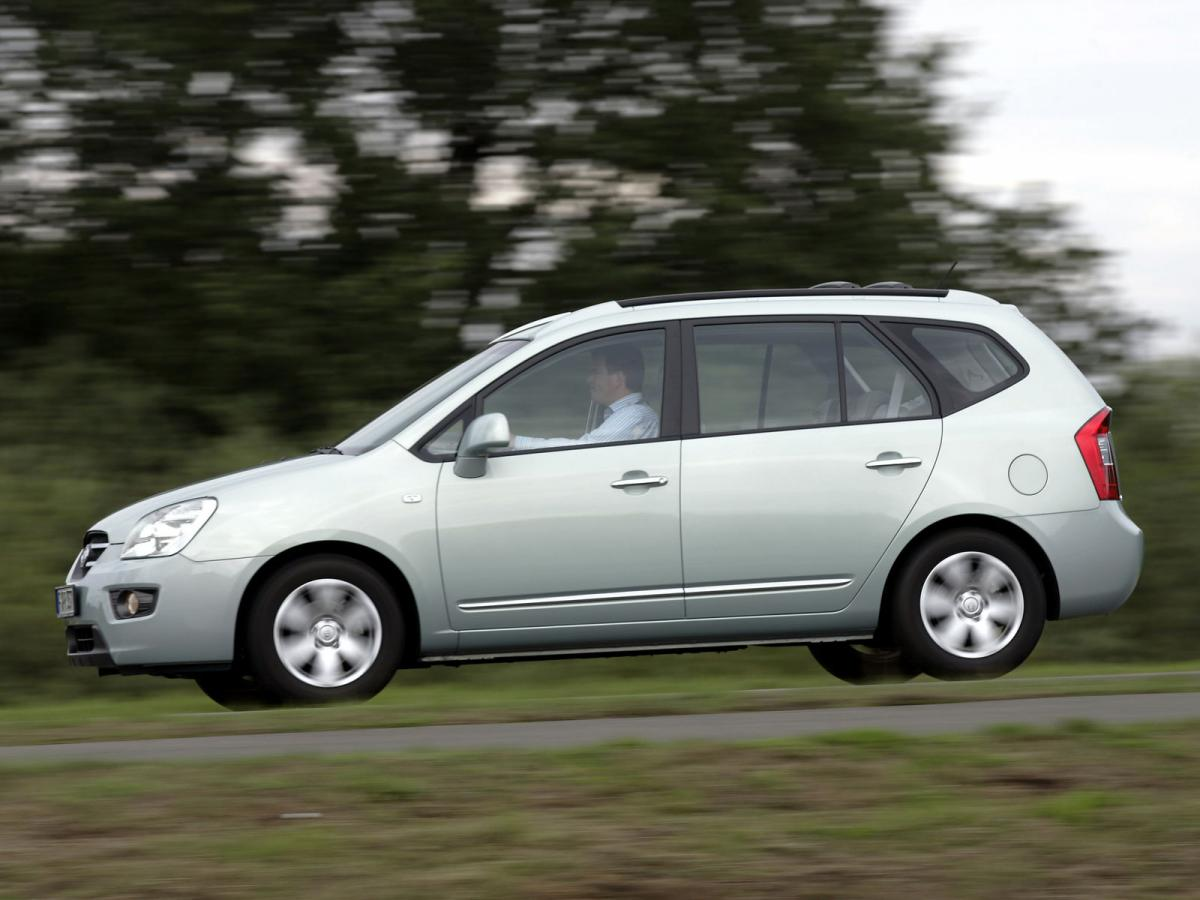 kia carens technical specifications and fuel economy. Black Bedroom Furniture Sets. Home Design Ideas