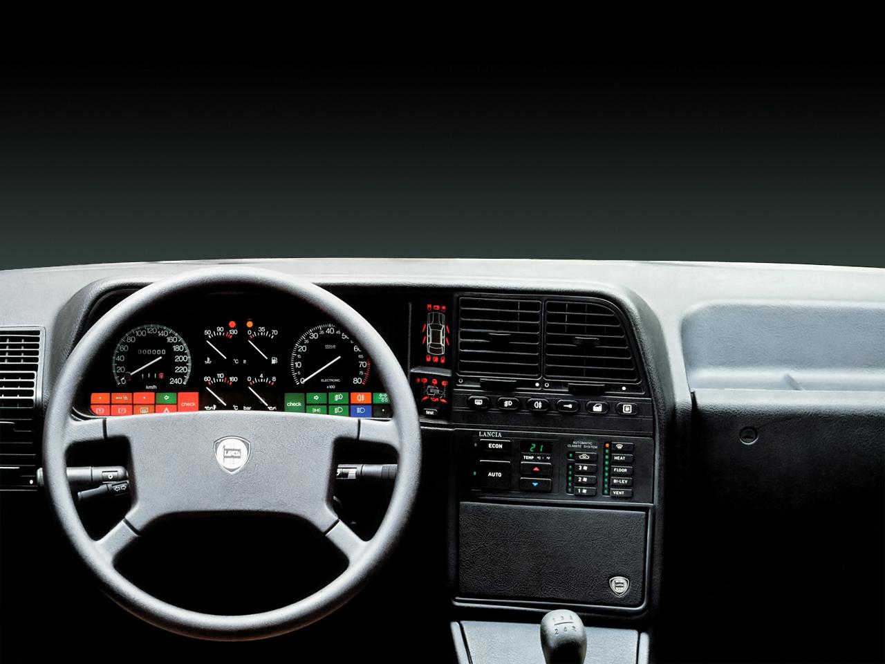 Lancia Thema Station Wagon (834) 2000 Turbo 16V (201 Hp)